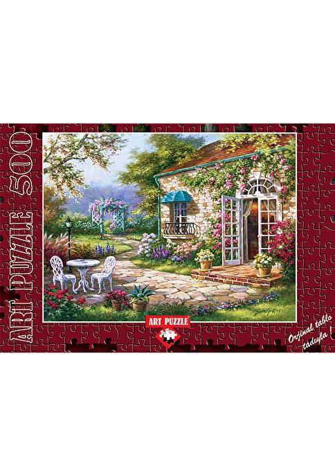 Art Puzzle Art Puzzle 500 Parça Spring Patio Renkli